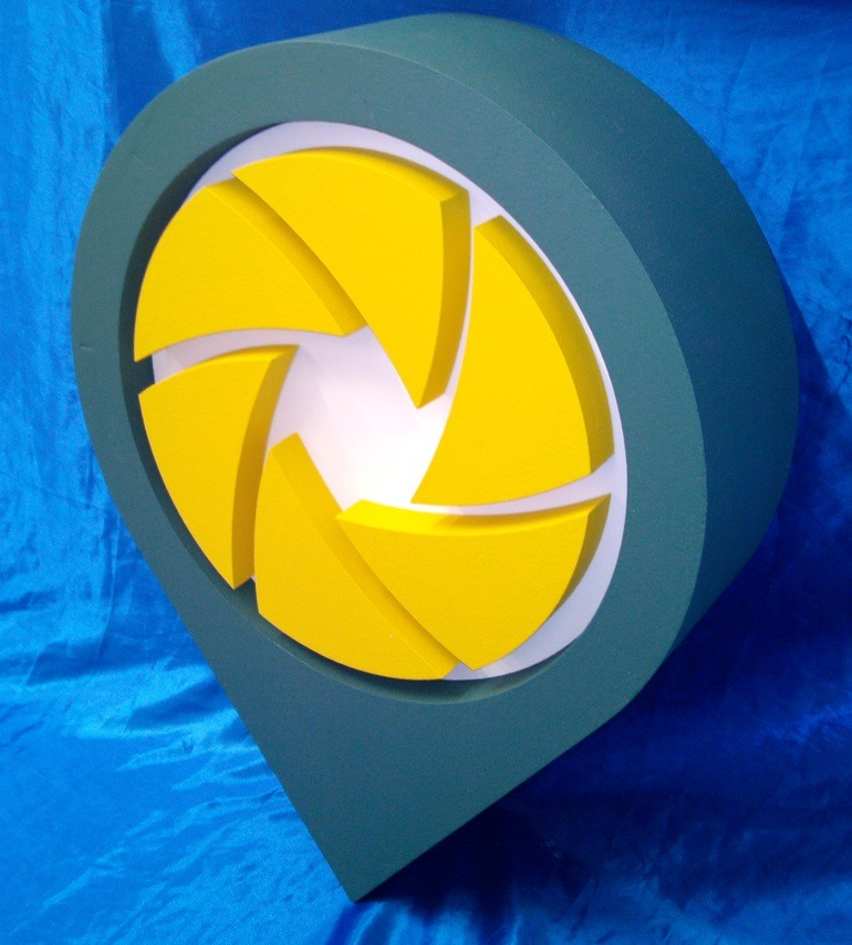 3d exhibition logo