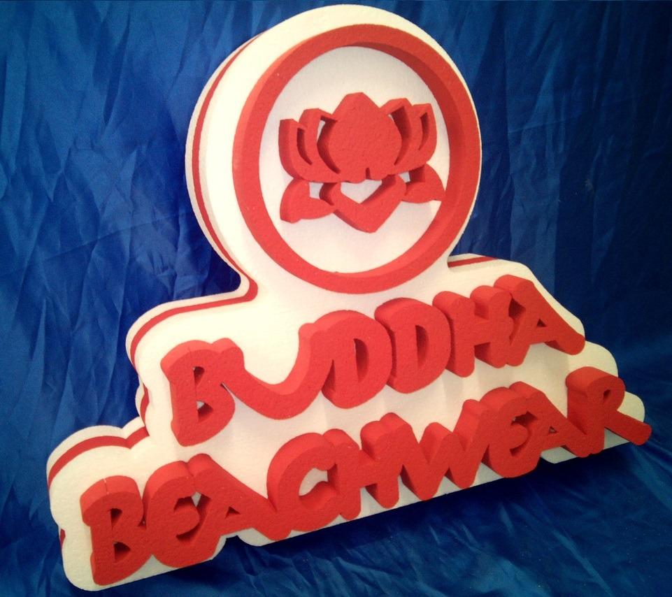 3d foam logo