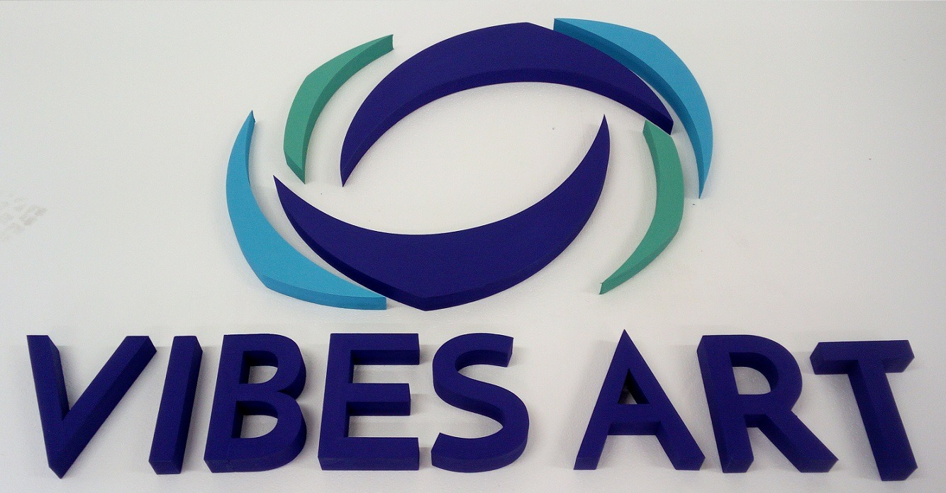 3d painted logo