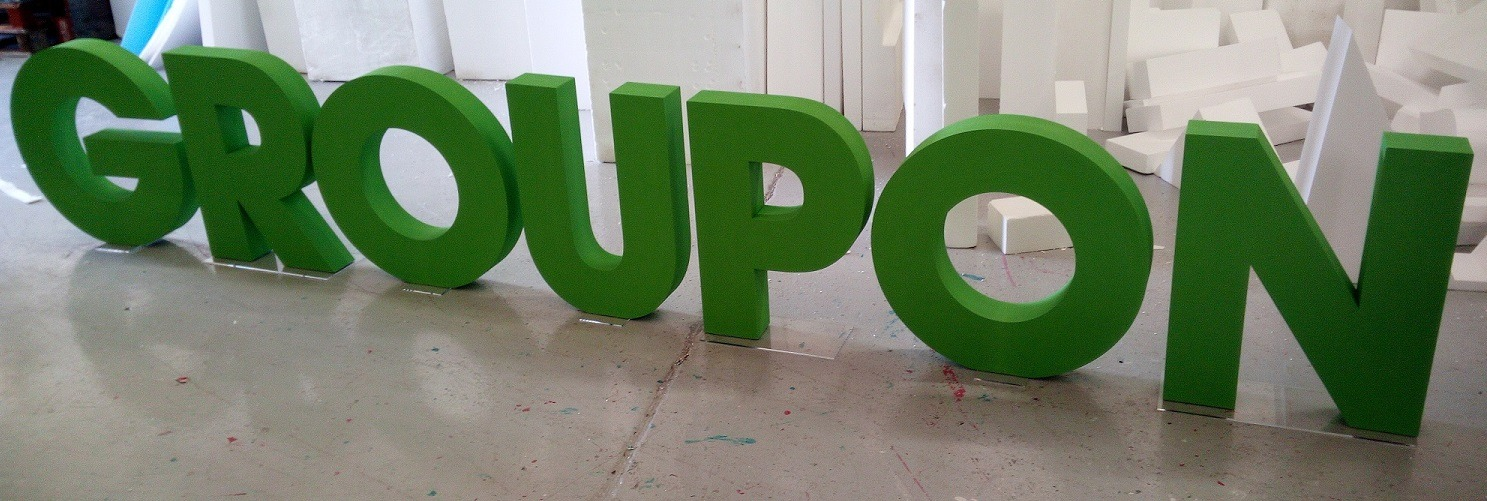GROUPON Letters