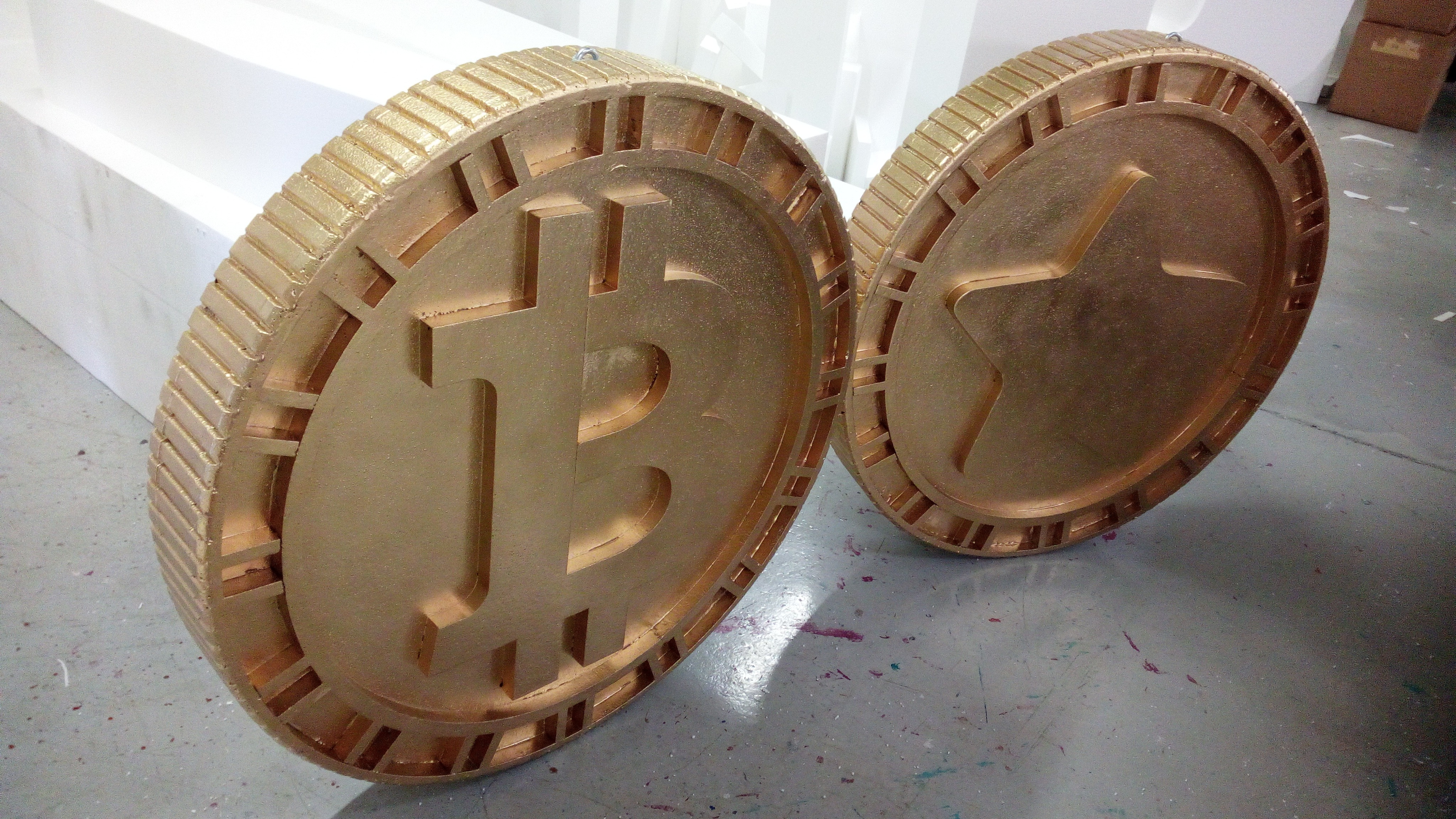 Huge Bitcoin Props