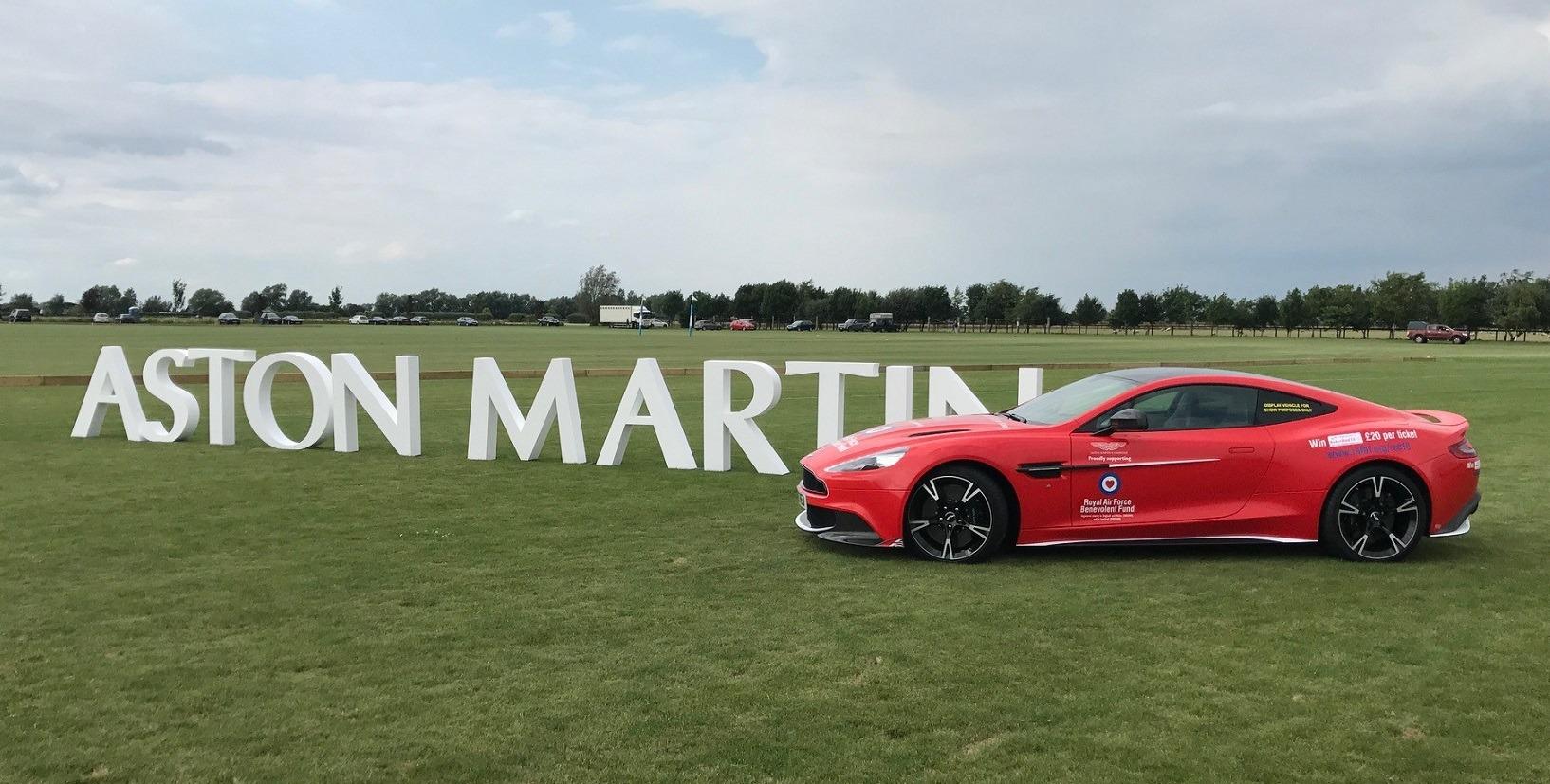 aston martin polystyrene letters
