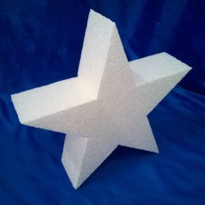 polystyrene star