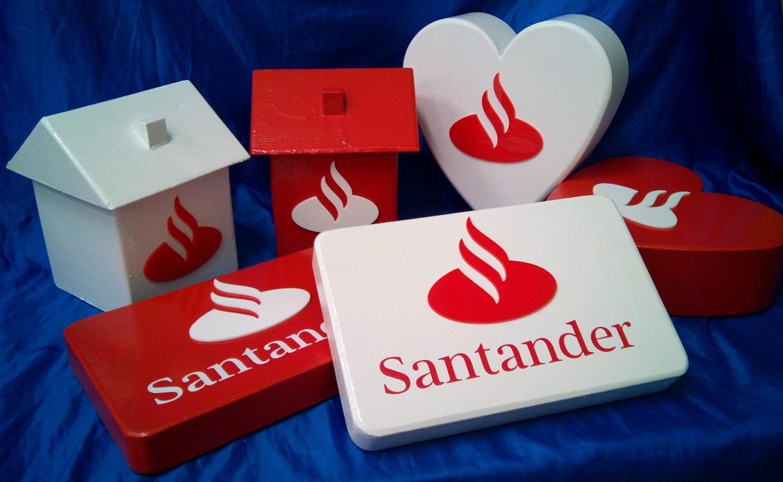 santander 3d model props