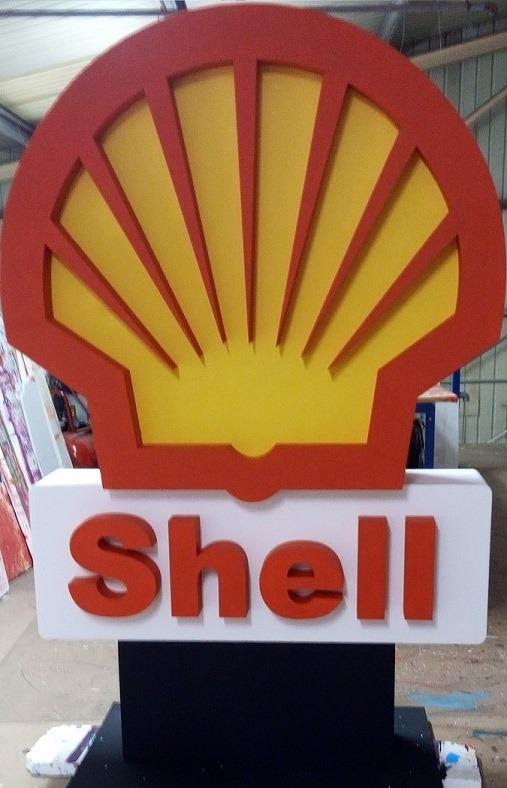 shell 3d logo