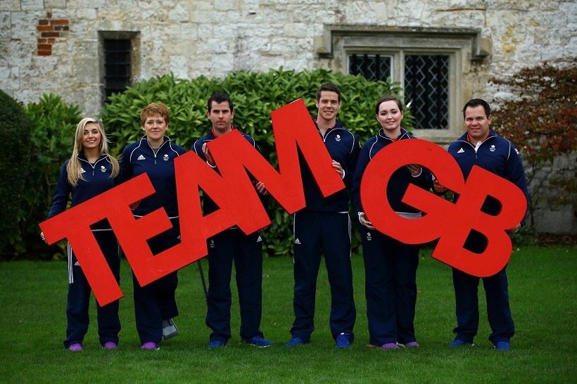 team gb letters