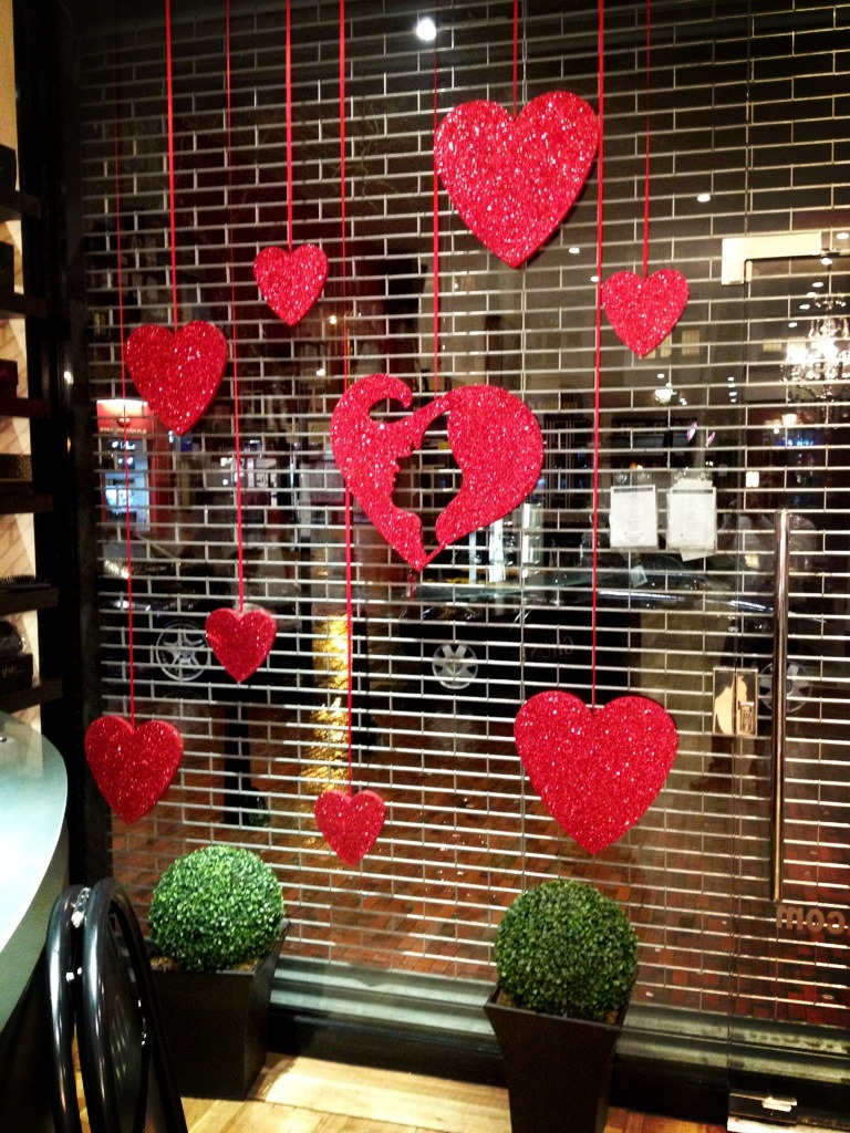 valentines shop display